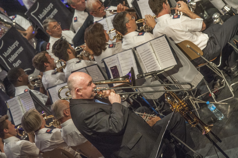 Der Australische Jazz-Musiker James Morrison gab einen Workshop und ein Konzert mit der Heilsarmee in Bern.
