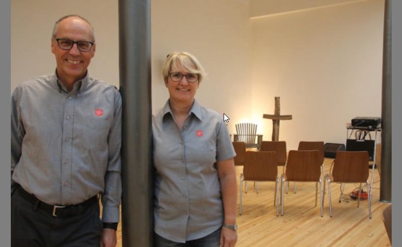 Die Majore Johannes und Anita Breiter leiten neu das Korps in Dagmersellen.
