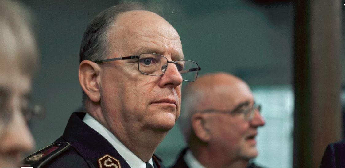 General André Cox, Leiter der Internationalen Heilsarmee / Général André Cox, Chef de l'Armée du Salut internationale