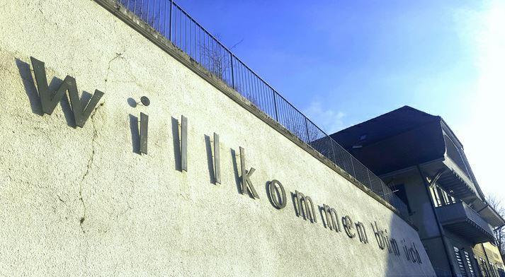Die Kollektivunterkunft Halenbrücke der Heilsarmee Flüchtlingshilfe HAF.