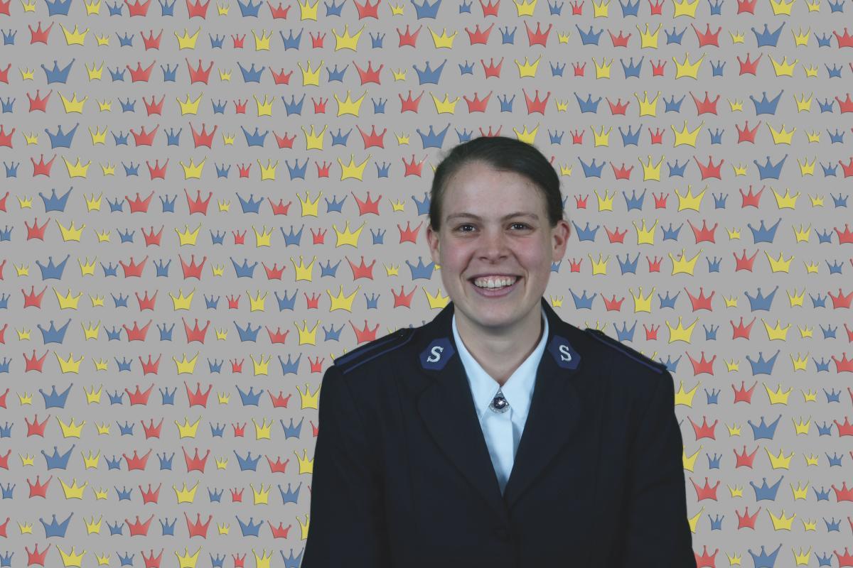 Kandidatin Joëlle Catalanotto / Candidate Joëlle Catalanotto