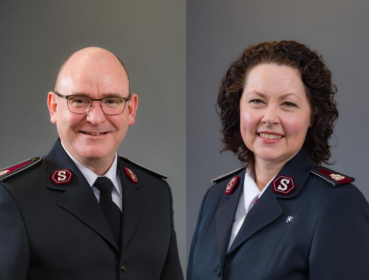 Kommissäre Lyndon und Bronwyn Buckingham / Commissaires Lyndon et Bronwyn Buckingham