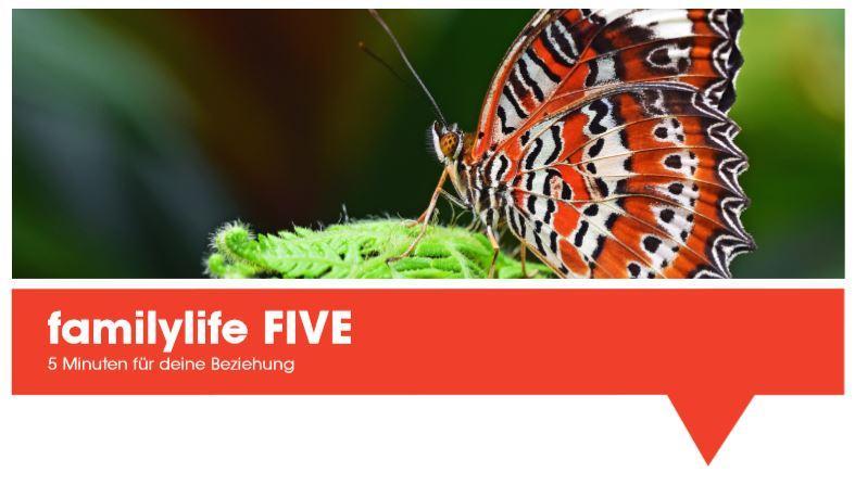Übung Schmetterling: Zählen Sie zehn gute Eigenschaften Ihres Partners auf und sagen Sie sie ihm oder ihr.