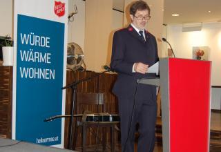 Hans-Marcel Leber, Geschäftsführung Heilsarmee Österreich
