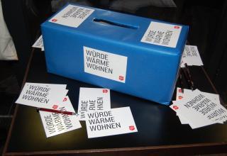 In dieser Box können die Gäste ihre Rückmeldungen zur Veranstaltung deponieren.