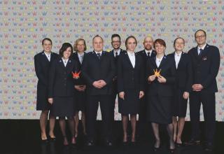 Kandidaten Gruppenfoto / Photo de groupe des Candidats