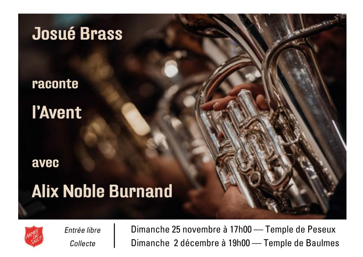 Concerts de l'Avent Josué Brass