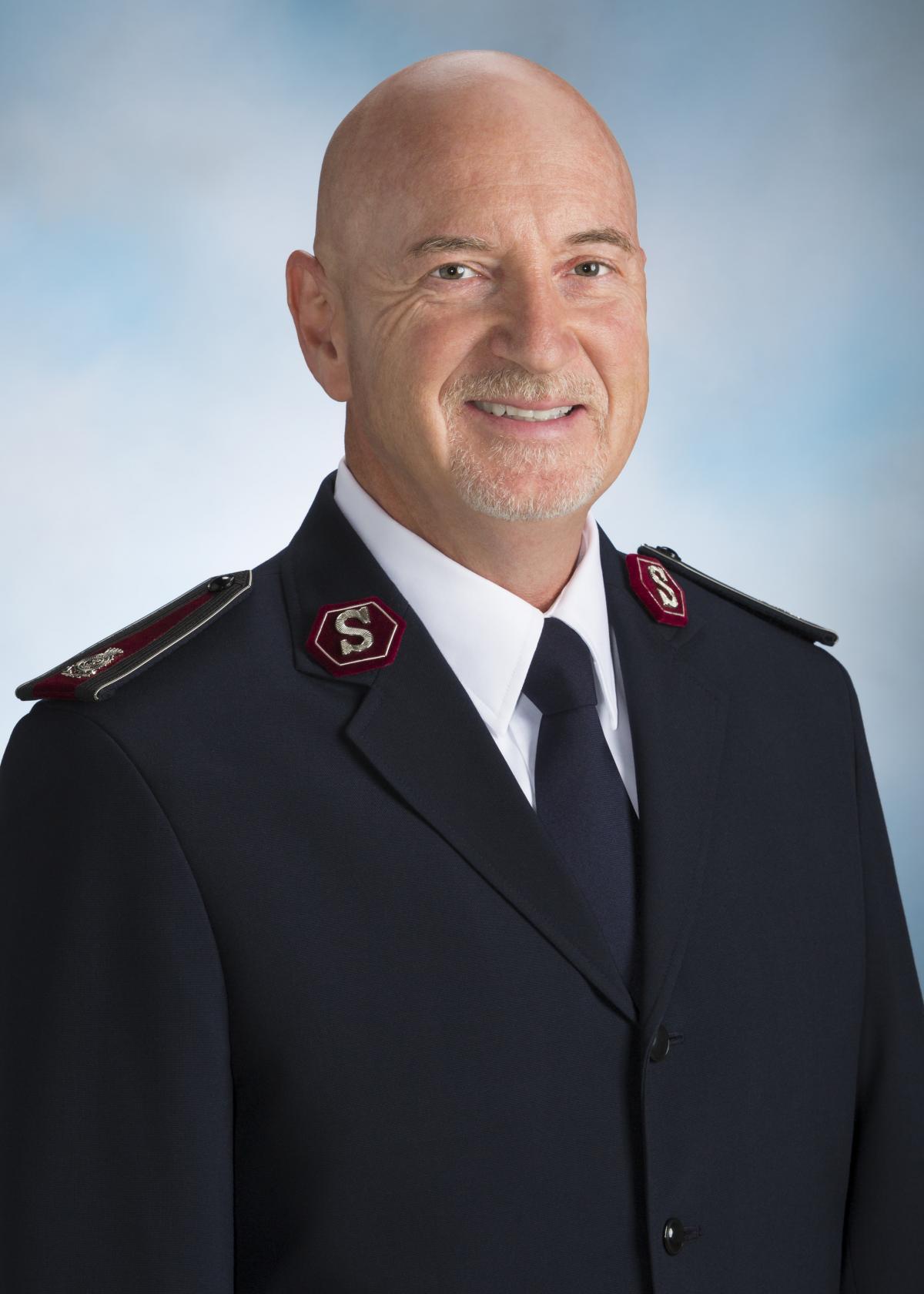 Kommissär Brad Bailey, Territorialleiter, Territorium USA Mitte / Commissaire Brad Bailey, Commandant territorial, USA Centre.