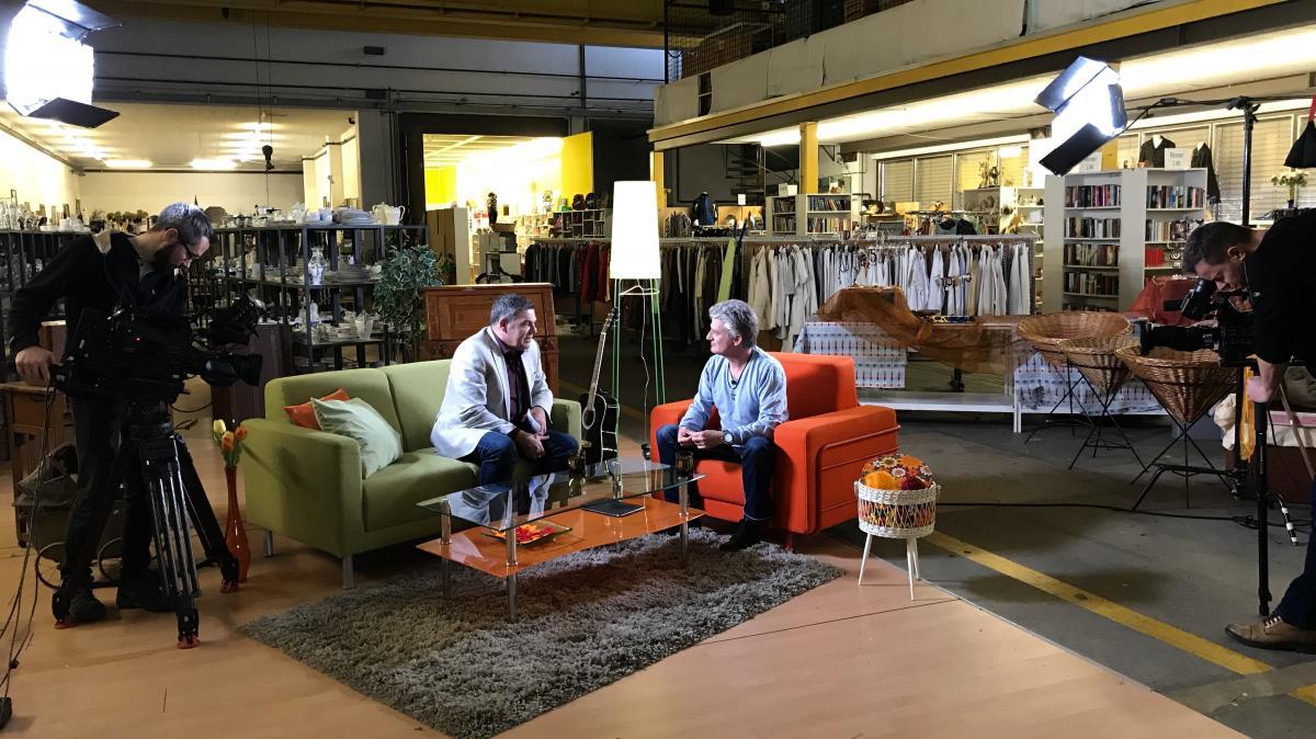 Brocki Kriens als TV-Location: SRF dreht dort den Talk Fenster zum Sonntag