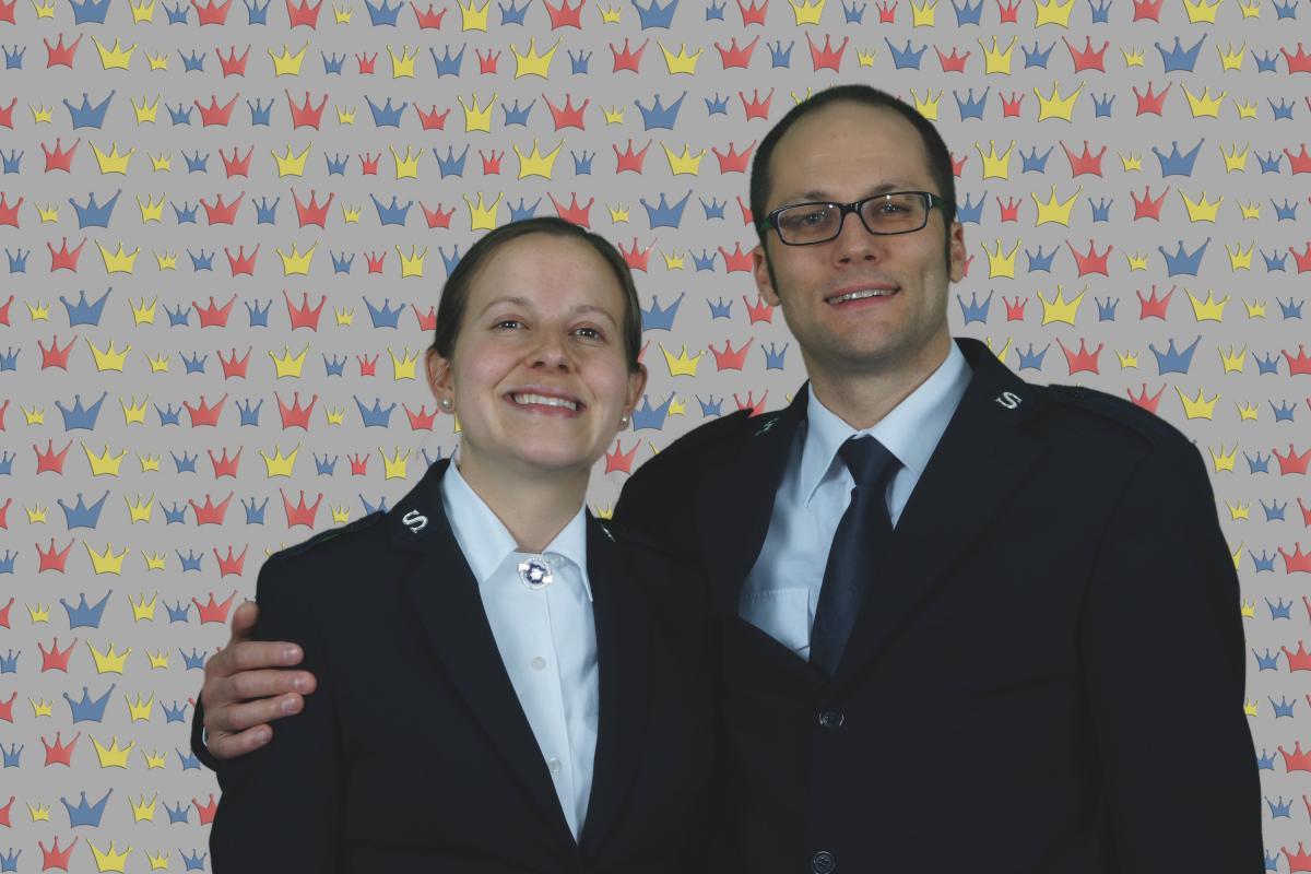 Kandidaten Debora und Steve Galeuchet / Candidats Debora et Stève Galeuchet