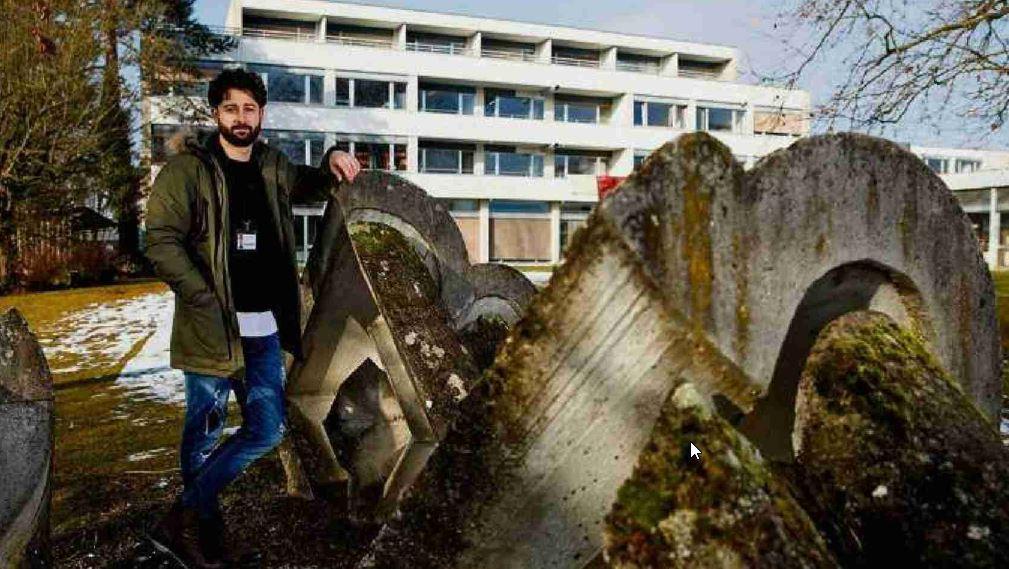 Fussballer und Unterkunftsleiter: Dragan Kuzmanovic ist im Rossfeld für 120 Flüchtlinge zuständig.