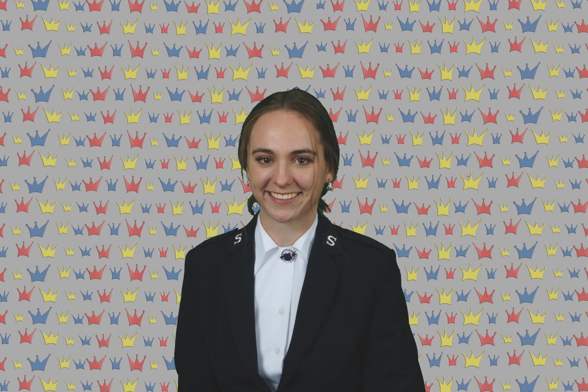 Kandidatin Franziska Hari / Candidate Franziska Hari