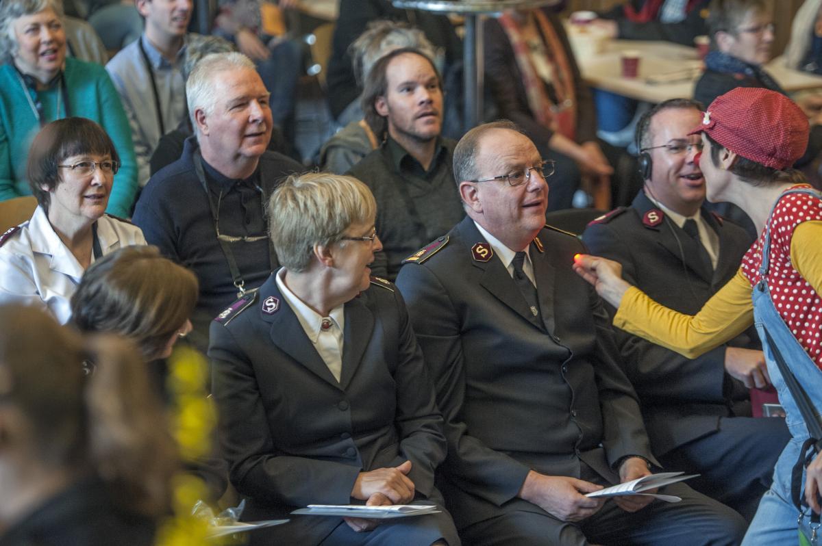 Am 28. März fand in Bern der Inklusionstag vom Sozialwerk der Heilsarmee statt. / Le 28 mars 2018 a eu lieu la journée de l'inclusion à Berne, organisée par l'Oeuvre Sociale de l'Armée du Salut Suisse.