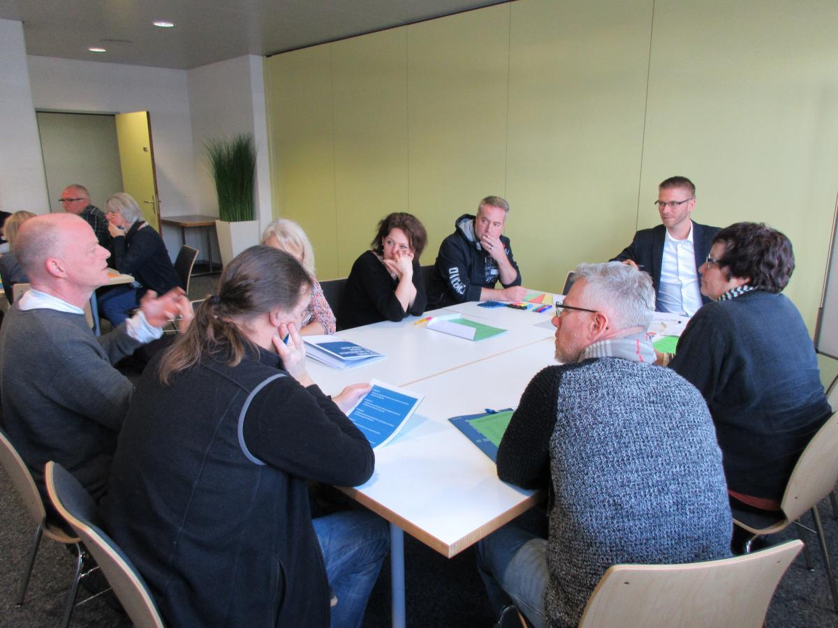 Eindrücke von der Führungsschulung vom 23. Januar in Bern.