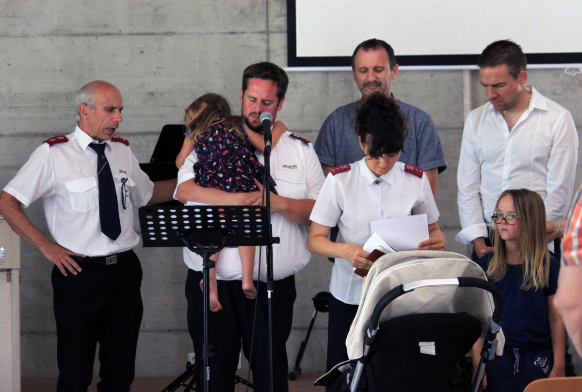 Prière de bénédiction pour les capitaines Termignone et leur famille