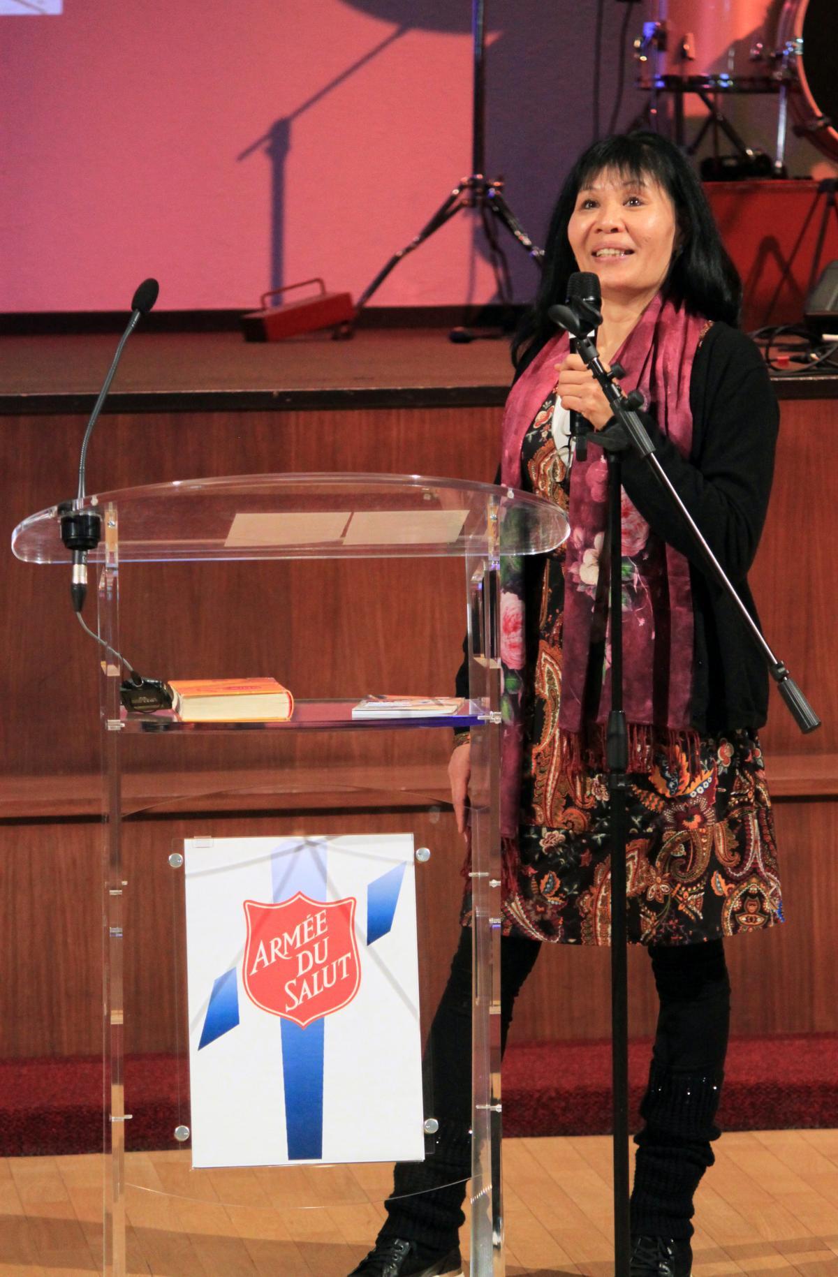 Tuyêt Trinh Geiser donne son témoignage