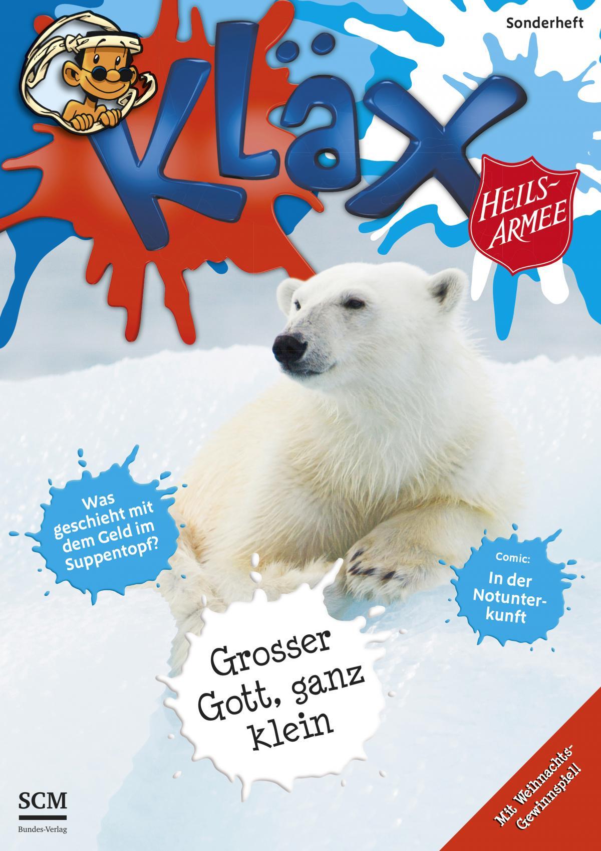 Kläx-Weihnachts-Sonderausgabe (Cover)