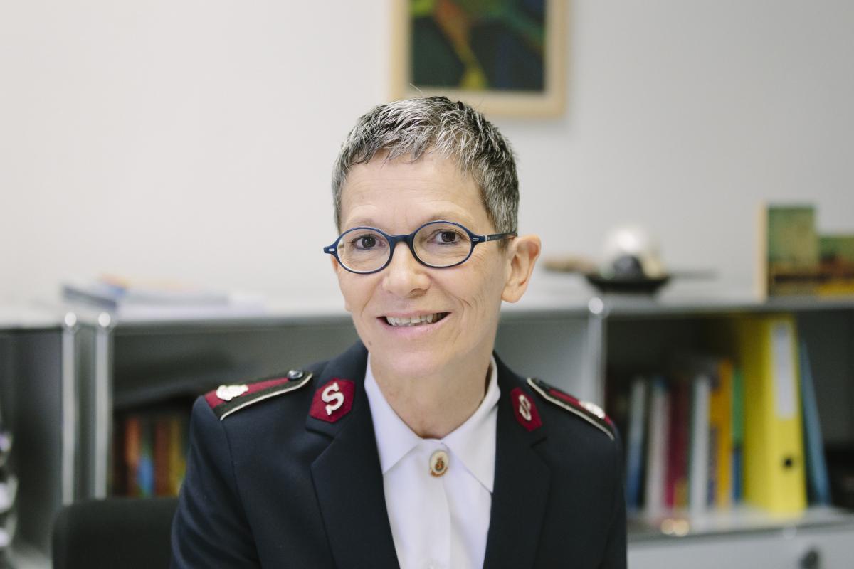 Oberstleutnantin Marianne Meyner / Lieutenant-Colonel Marianne Meyner