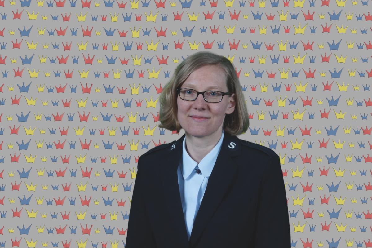 Kandidatin Miriam Schulz / Candidate Miriam Schulz