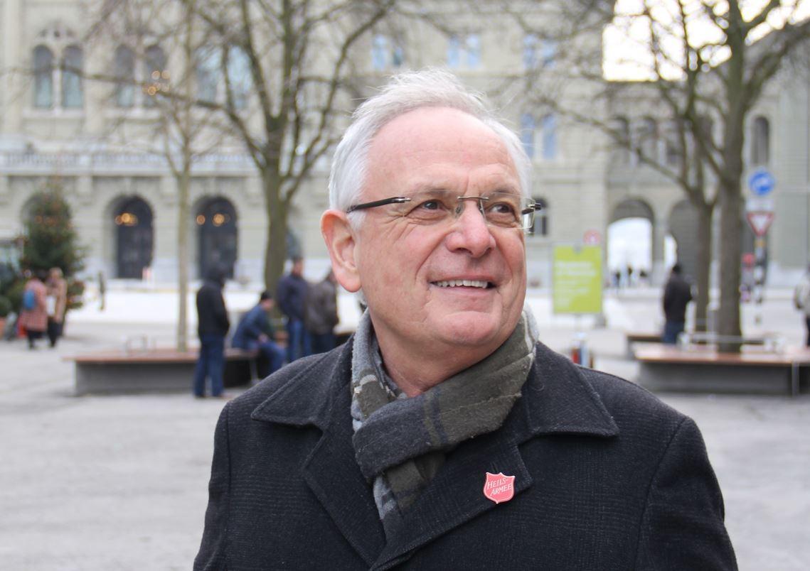 Heilsarmee-Sonderbotschafter Paul Mori