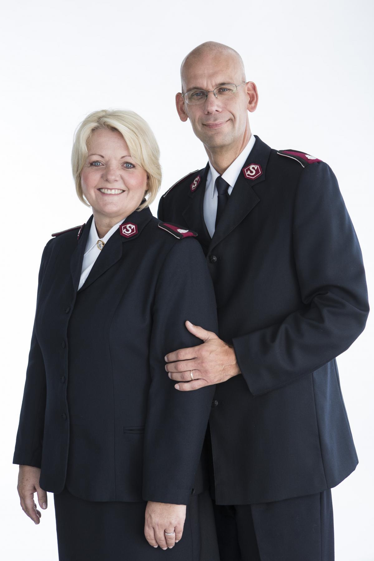 Colonels Lisbeth et Henrik Andersen