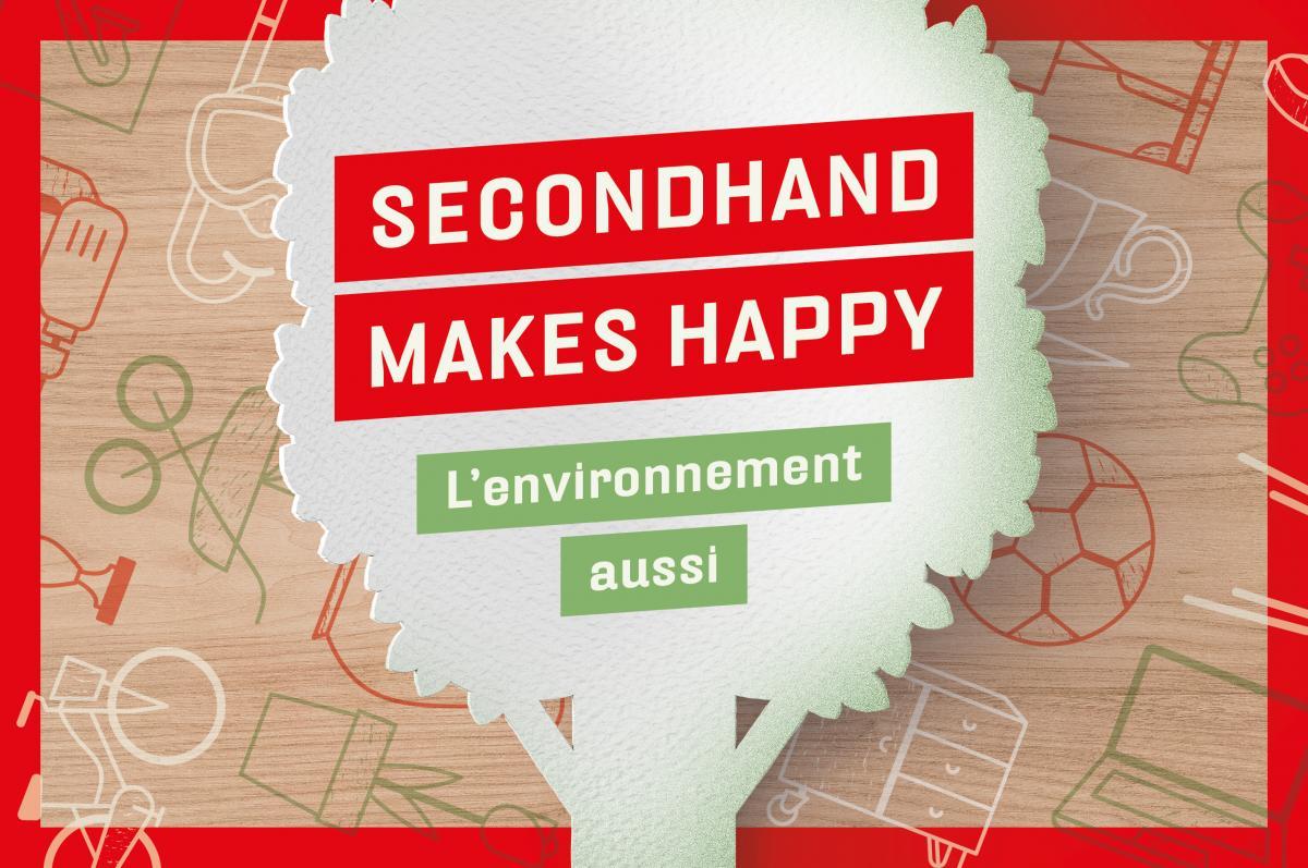 Secondhand makes Happy l'environnement aussi