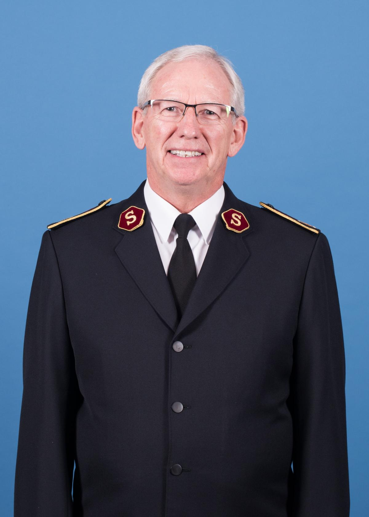 General Brian Peddle, Leiter der Internationalen Heilsarmee