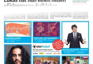 James Morrison spielt am 25. Juni im National Bern mit dem Musikkorps der Heilsarmee Bern