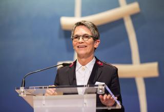 Oberstleutnantin Marianne Meyner, Chefsekretärin Heilsarmee Schweiz