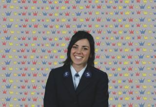 Kandidatin Aurore Donzé / Candidate Aurore Donzé