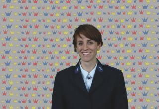 Kandidatin Céline Voumard / Candidate Céline Voumard