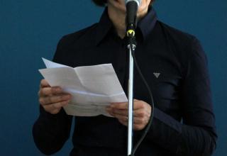 Madame Christine Thibaud-Zingg, architecte du projet.