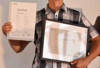 Zertifizierungsfeier HandsOn 2018