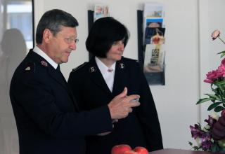 Les commissaires Massimo et Jane Paone, responsables du Territoire Suisse, Autriche & Hongrie.
