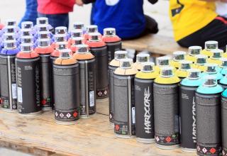 Bonbonnes de spray