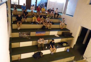 Die Heilsarmee geht neue Wege, mit einem öffentlichen Plausch-Squash-Turnier in Winterthur