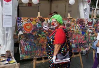 Heilsarmee am Street Life Festival Wien