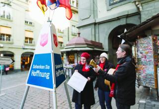 Topfkollekte in Bern 2015